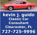 Kevin Guido - Classic Car Consultant